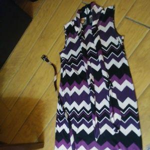 Tory Burch Sleeveless Dress Sz M